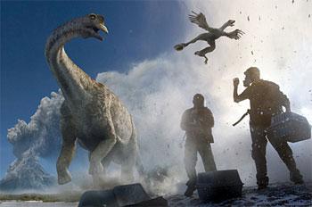過去にさかのぼって恐竜を見学